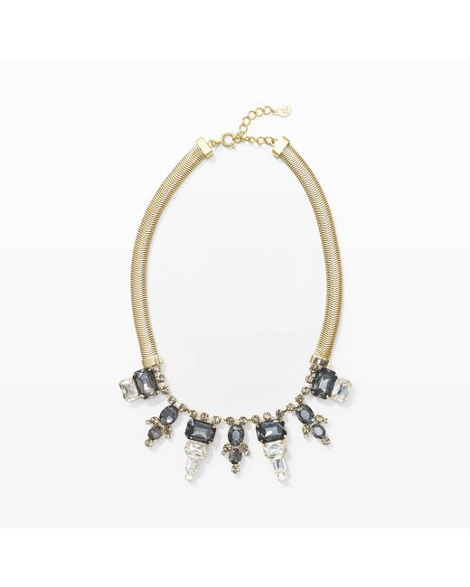 Club Monaco | Metallic Briana Statement Necklace | Lyst