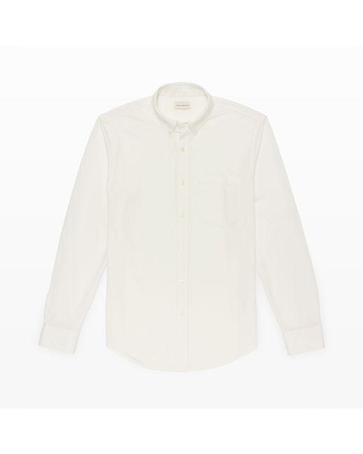 Club Monaco | White Long-sleeve Knit Shirt for Men | Lyst