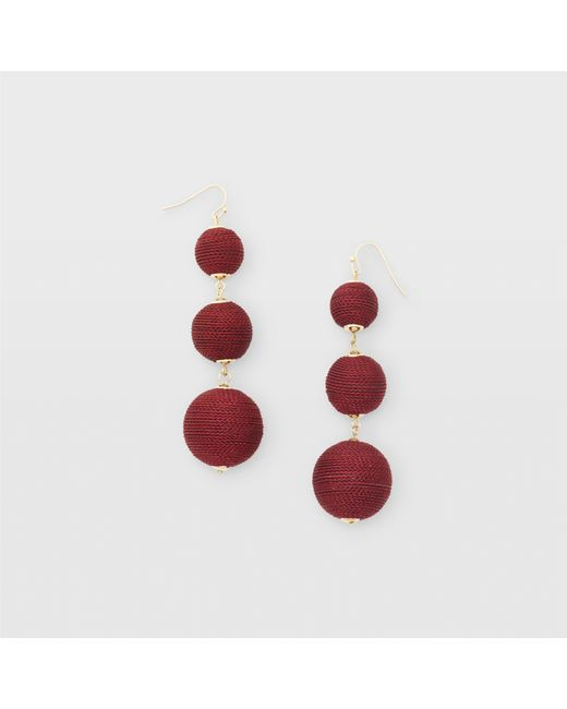 Club Monaco - Natural Bauble Solid Earring - Lyst