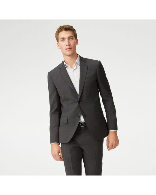 Club Monaco - Gray Grant Wool Suit Trouser for Men - Lyst
