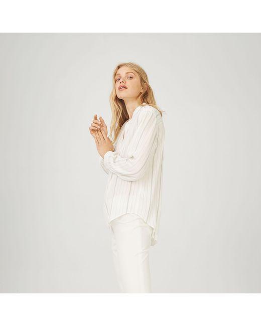 Club Monaco - White Maira Shirt - Lyst