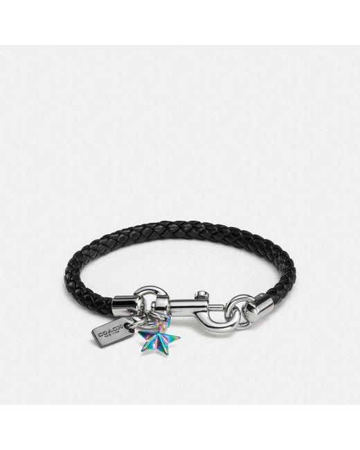 COACH   Black Charms Friendship Bracelet   Lyst