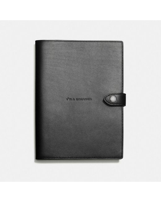 COACH | Black Sketchbook In Glovetanned Leather | Lyst