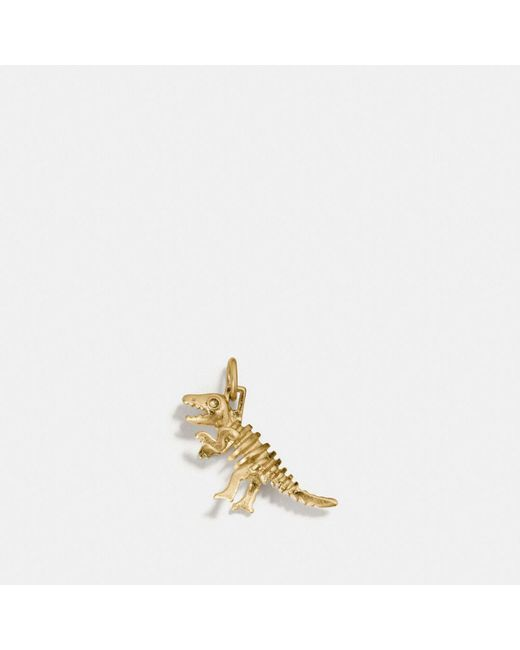 COACH | Metallic Rexy Charm | Lyst