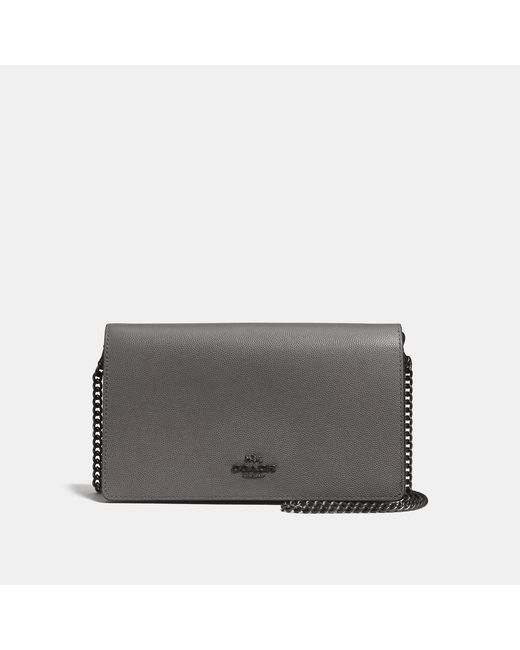 COACH 2020 Callie Foldover Chain Clutch With Ombre
