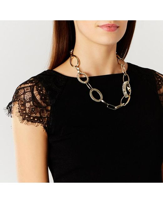 Coast | Metallic Andros Chain Necklace | Lyst
