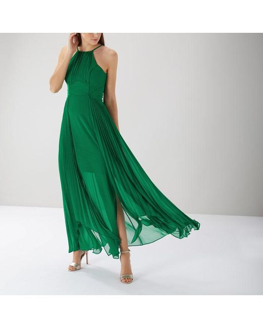 Coast - Green Mia Maxi Dress - Lyst