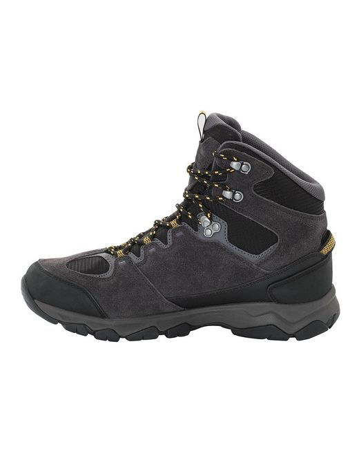 d5f48f0d4a7 Men's Yellow Mtn Attack 6 Texapore Mid Waterproof Hiking Shoes