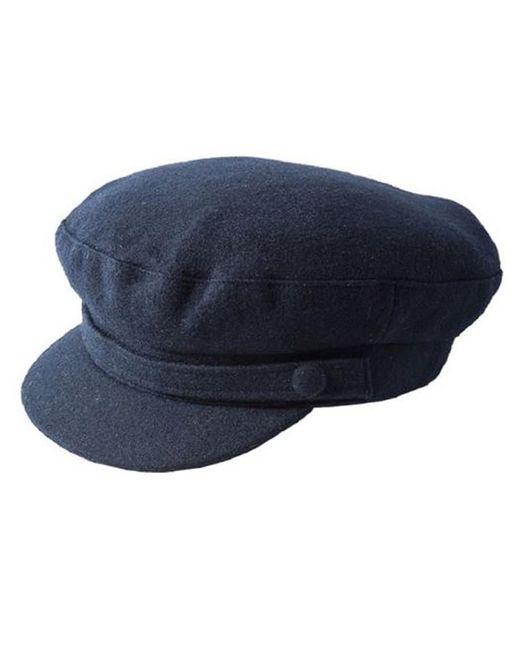 Failsworth - Blue Breton Melton Wool Mariner Cap - Lyst