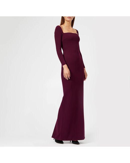Solace London - Purple Lolita Maxi Dress - Lyst