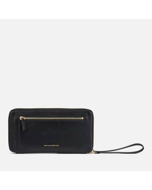 Want Les Essentiels De La Vie | Black Women's Liberty Travel Zip Wallet/passport Cover | Lyst