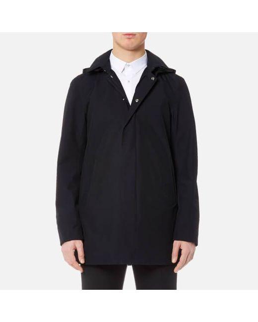 Herno - Blue Men's Laminar 2 Layer Goretex Hooded Jacket for Men - Lyst