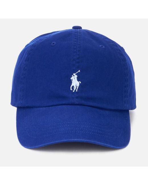 Lyst - Polo Ralph Lauren Men s Cap in Blue for Men f35e71bebaf