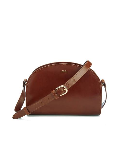 a p c half moon shoulder bag save 30 lyst. Black Bedroom Furniture Sets. Home Design Ideas