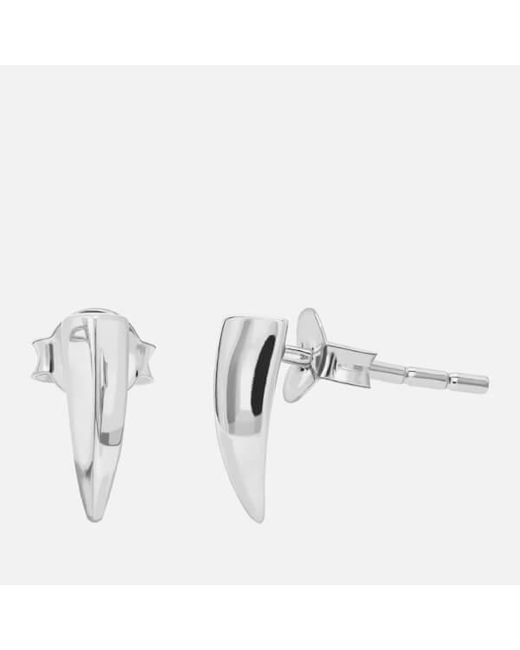 Missoma | Metallic Women's Dagger Stud Earrings | Lyst