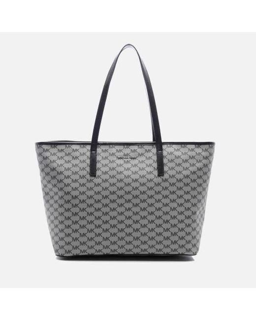 MICHAEL Michael Kors | Black Women's Emry Large Top Zip Tote Bag | Lyst