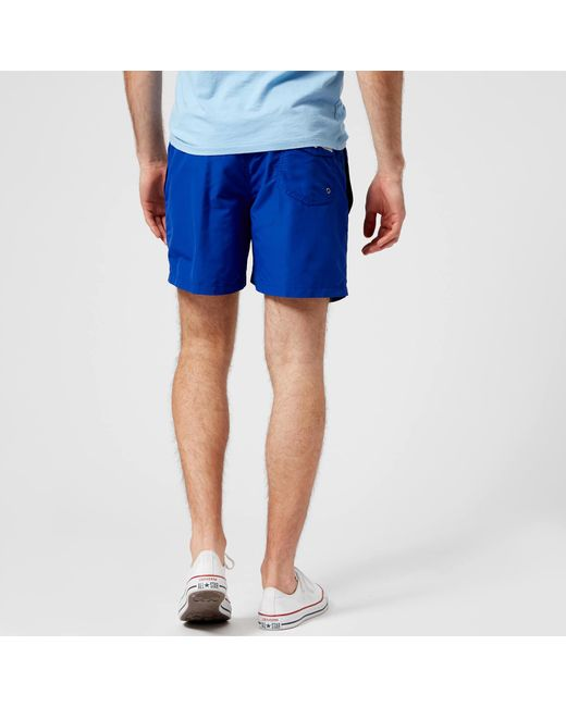 2c1dc22f0 ... Polo Ralph Lauren - Blue Traveler Swim Shorts for Men - Lyst ...
