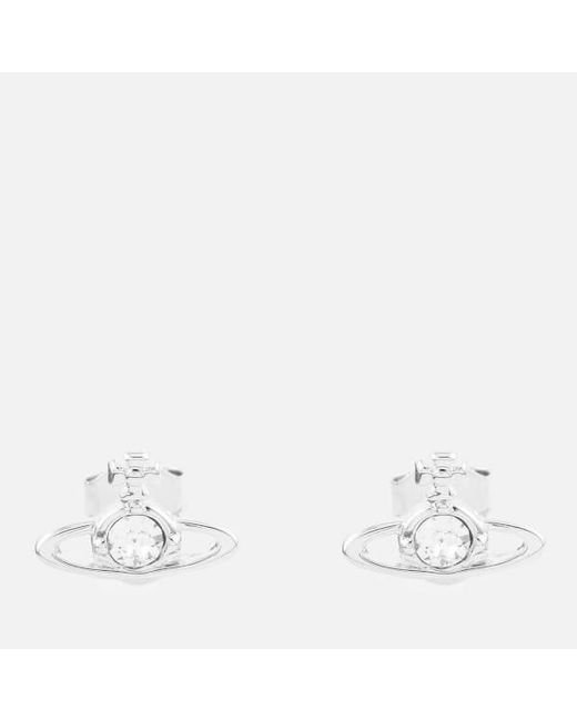 Vivienne Westwood | Metallic Women's Nano Solitaire Earrings | Lyst
