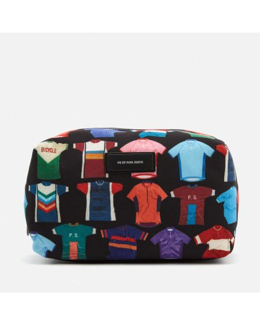 Paul Smith | Black Men's Cycle Jersey Print Wash Bag for Men | Lyst