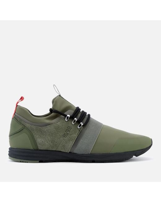 HUGO | Green Men's Hybrid Runner Trainers for Men | Lyst