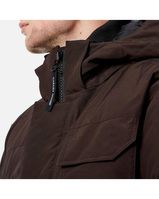 ... Canada Goose - Brown Men's Maitland Parka Jacket for Men ...