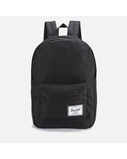 7706d119da80 Herschel Supply Co. - Black Classic Backpack for Men - Lyst ...