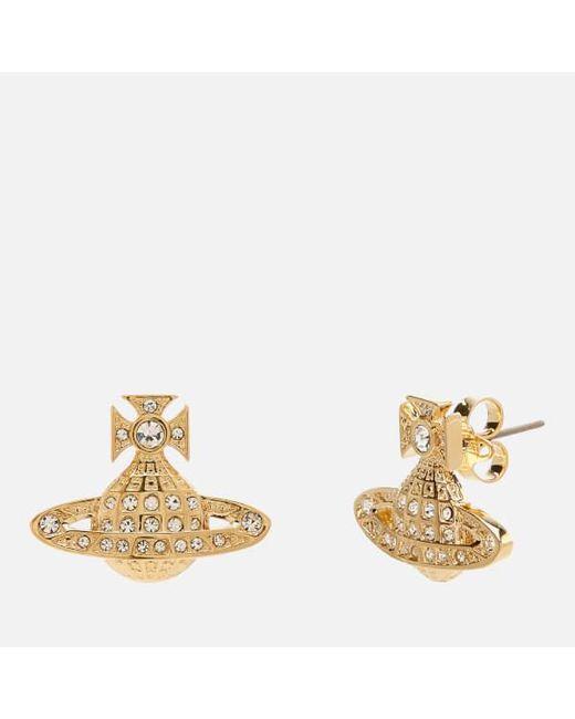 Vivienne Westwood - White Women's Minnie Bas Relief Earrings - Lyst