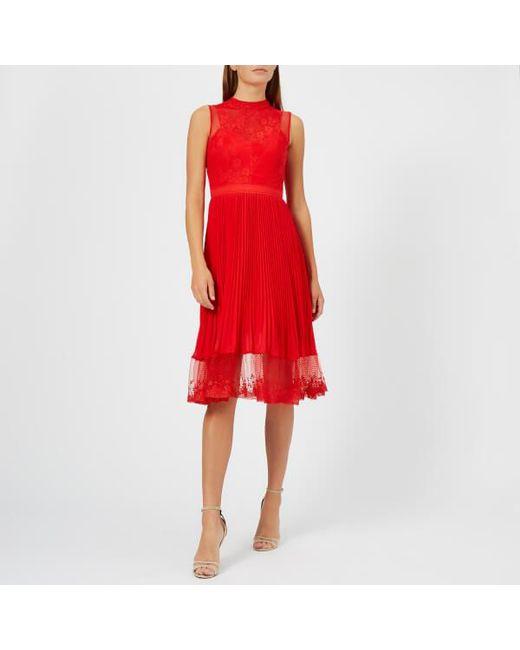 Three Floor - Red Cherry Ripe Dress - Lyst