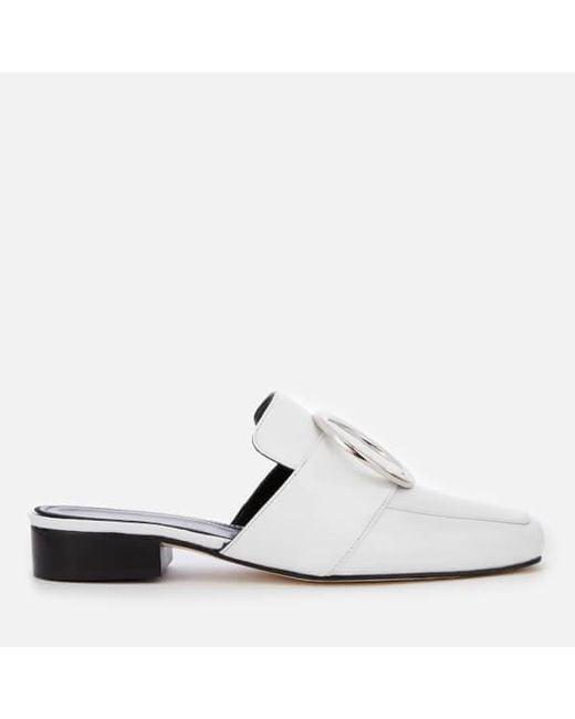 eb9f189bc3a dorateymur-White-Womens-Petrol-Leather-Slide-Loafers.jpeg