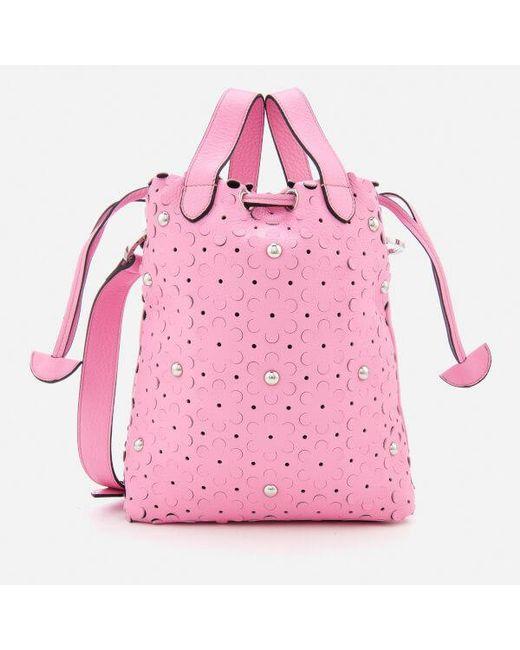 Meli Melo - Pink Women's Hazel Daisy Laser Cut Bag - Lyst