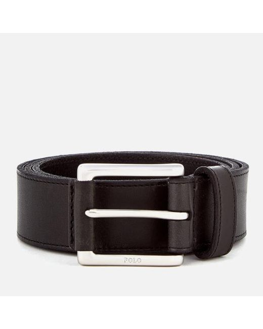 Polo Ralph Lauren - Black Men's Casual Leather Belt for Men - Lyst