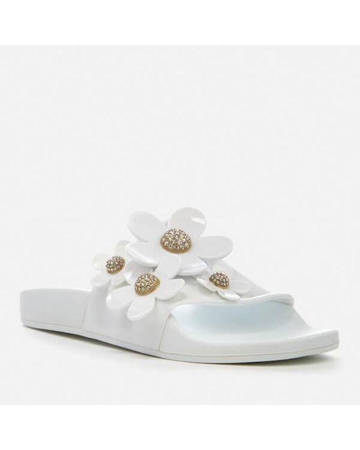Women's Daisy Pave Aqua Slide Sandal