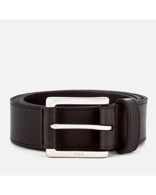 Polo Ralph Lauren - Black Casual Leather Belt for Men - Lyst