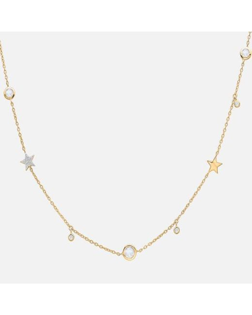 Missoma | Metallic Women's Interstellar Star Drop Necklace | Lyst