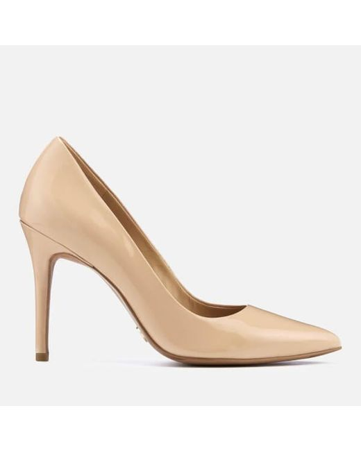 dd55e2fe2 MICHAEL Michael Kors - Natural Women's Claire Patent Court Shoes - Lyst ...