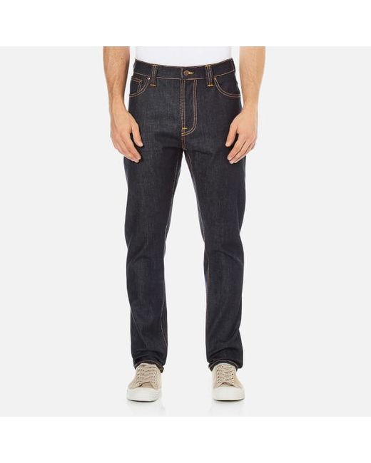 Nudie Jeans - Blue Men's Brute Knut Regular/tapered Fit Jeans for Men - Lyst