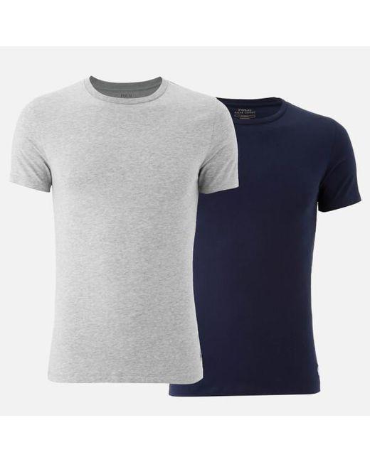 Polo Ralph Lauren | Multicolor Men's 2 Pack Crew Neck Tshirts for Men | Lyst