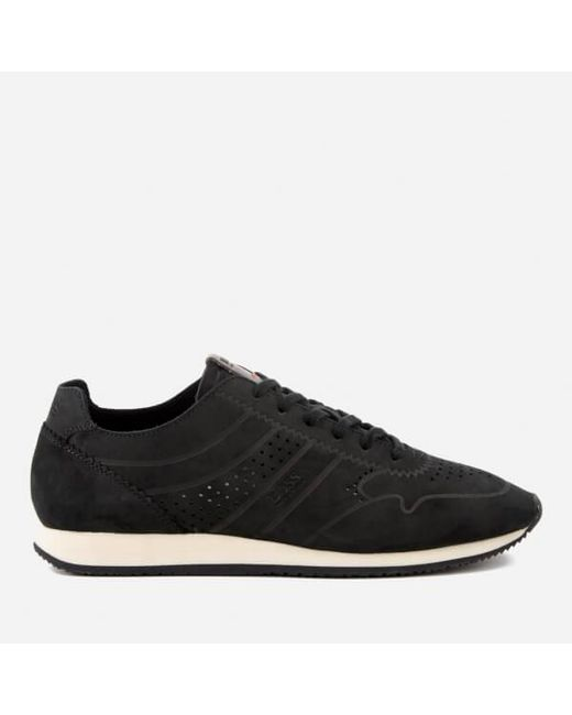 BOSS Orange | Black Men's Adrenal Runn Nubuck Trainers for Men | Lyst