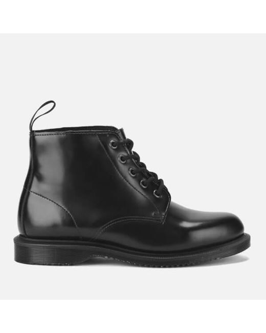 Dr. Martens - Black Emmeline Leather Ankle Boots - Lyst