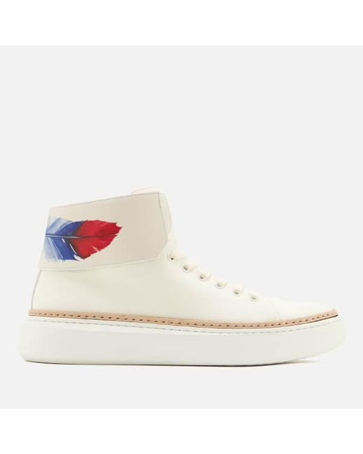 Buscemi | White Men's 90mm Crepone Trainers for Men | Lyst