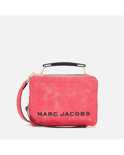 062f2010486e Marc Jacobs - Pink Women s The Box Bag - Lyst ...