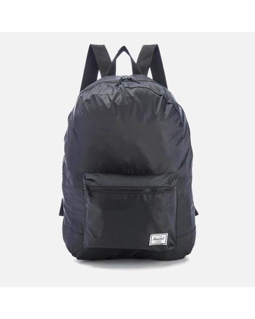 Herschel Supply Co. - Black Packable Daypack Backpack for Men - Lyst ... 0cbd86c169