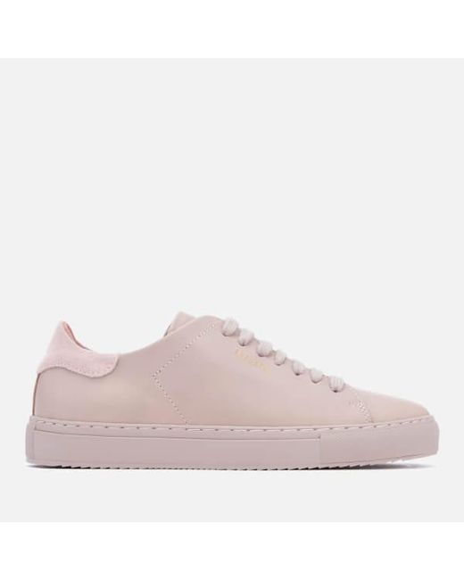 6f8b8b23848 Axel Arigato Women s Clean 90 Leather Trainers in Purple - Lyst