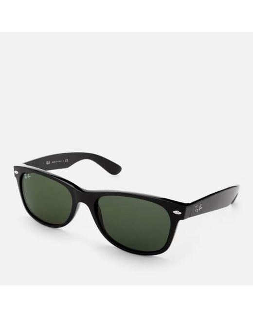 Ray-Ban Rayban Men s New Wayfarer Sunglasses in Black for Men - Lyst 6237b3eb11d9