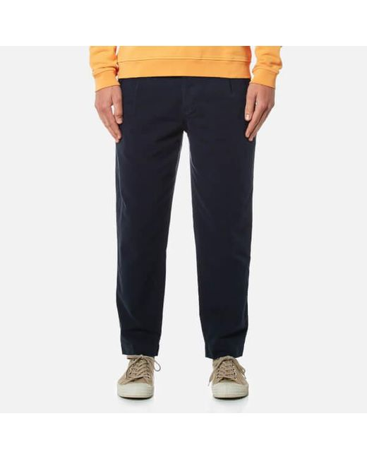Folk - Blue Men's Relaxed Fit Trousers for Men - Lyst