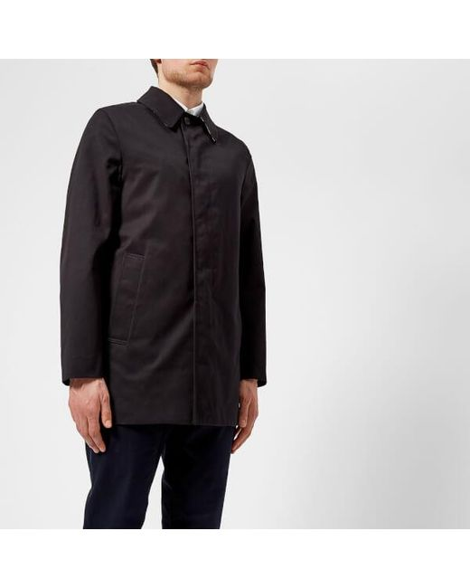 Aquascutum - Blue Men's Berkley Raincoat for Men - Lyst