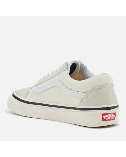 dca73958fa71 ... Vans - White Anaheim Old Skool 36 Dx Trainers for Men - Lyst ...