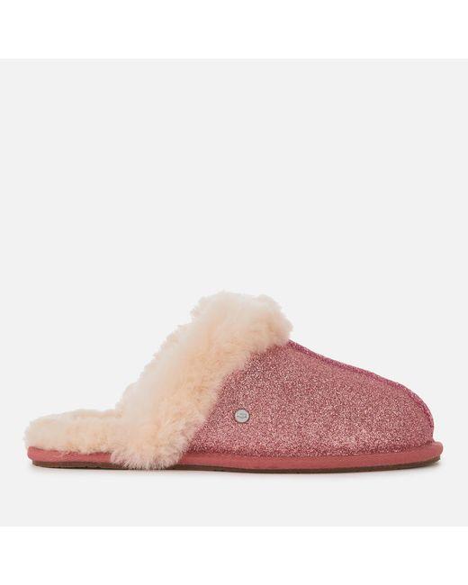 9820ac49518 Women's Pink Scuffette Ii Sparkle Slippers