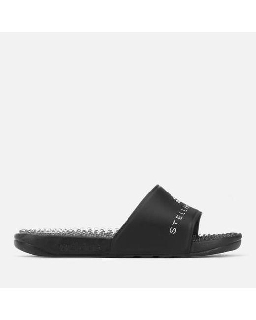 f96ecf76c67 ... Lyst Adidas By Stella McCartney - Black Women s Adissage Slide Sandals  ...