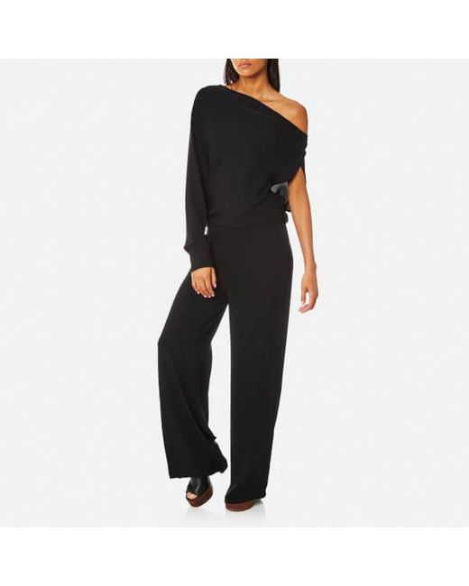 Low Cost Cheap Price Free Shipping Pre Order Black Jersey Jumpsuit Maison Martin Margiela Big Sale aupPPQA